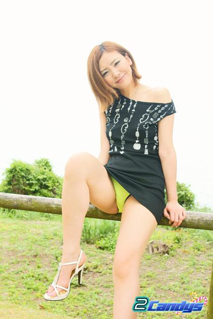 真性青姦露出ナマ撮り倉木みお 無修正画像02