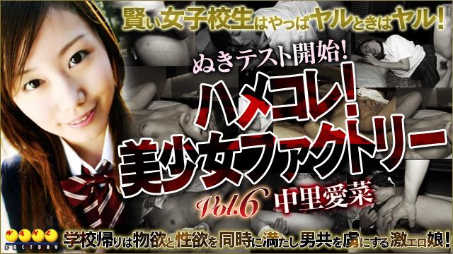ハメコレ!美少女ファクトリー Vol.6 中里愛菜
