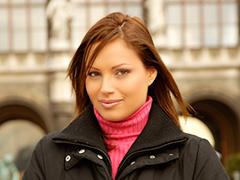 ハンガリー美女と異文化交流 - シルビア -シルビア