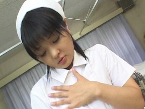 ロリ美少女 可愛くてエッチなナース編 無修正画像01