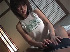 アイドル級人気の金沢文子ちゃんが和室でハード系生挿入セックス!
